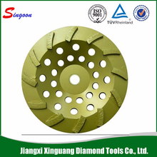 Bowl Shapped Diamond Cup Grinding Wheel For Granite And Marble