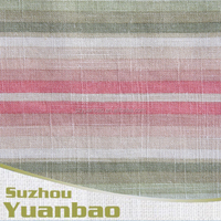 yarn dyed 45% cotton 55% linen fabric
