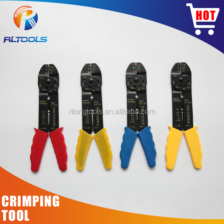 Manual hand packing strapping tensioner sealer crimping tool