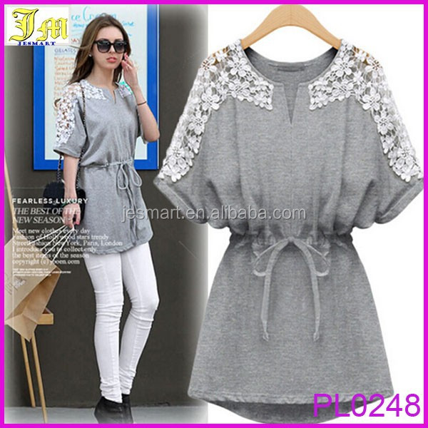 2015 New Apparel Sexy Hollow out New Women Sexy Lace Short Sleeve Casual Party Evening Mini Dress