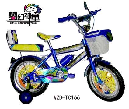 Cartoon desinged 14 inch kids bike with air bell children bikes