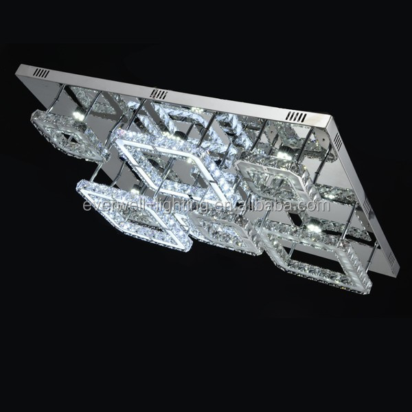 Hot new modern design products led square ceililng light