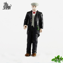 Custom mini action plastic formed 3d toy figure