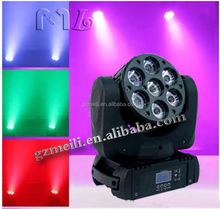 Hot sales chinese Super price 7*12w moving head lighting for DJ moving head light