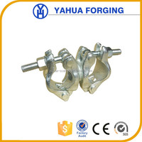 Heavy duty cast iron pipe clamp