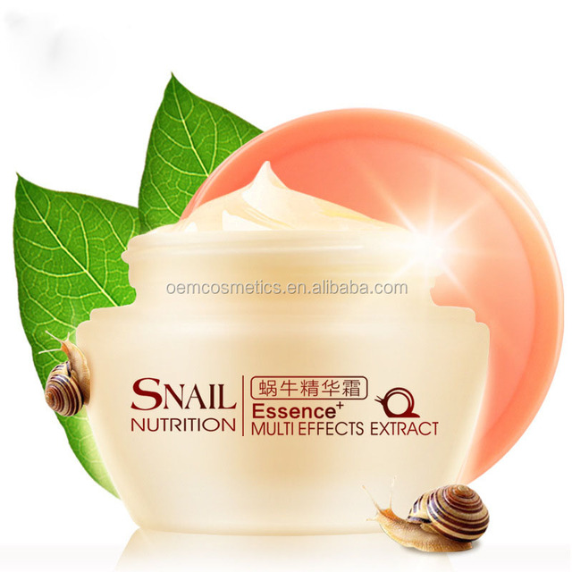 Korea snail liquid extract anti wrinkle snail white cream