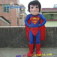 Adult Size Superman mascot costume for Festival