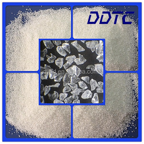 Glass Polishing Tools Manufacturing Material White Fused Alumina Abrasive Polishing Grains White Aluminum Oxide