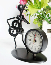 tinplate desktop clock,tinplate figures,iron <strong>crafts</strong>
