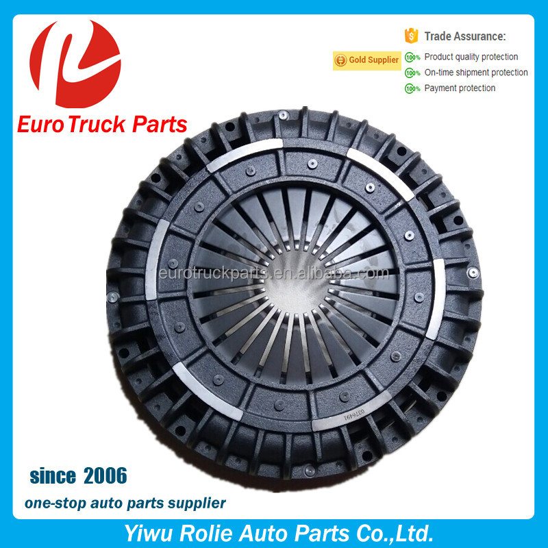 OEM 3482017034 0376491 Heavy Duty European Truck Clutch Cover DAF Tractor Steel Clutch Pressure Plate