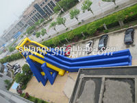 High quality giant Hippo Inflatable Water Slide for Kids and Adults