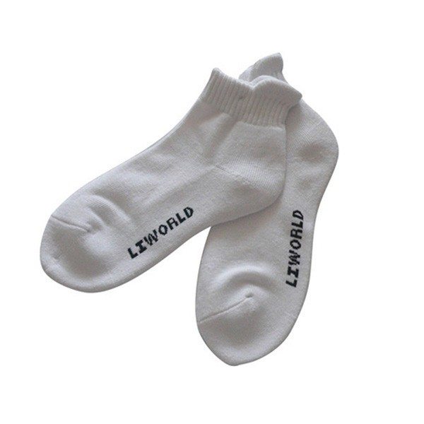 GSS-23 Wholesale custom new design white sports crew socks mens sport socks