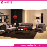 Arab style sofa soft furniture modern fabric 1+2+3 sectional living room sofa from foshan