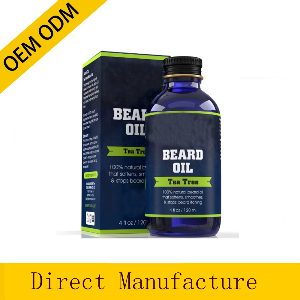 Premium Beard Oil and Conditioner - HUGE 4 oz Bottle - FOUR TIMES LARGER - 100% Natural - Softens Your Beard and Stops Itching