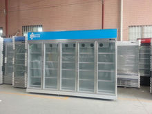 3M Hot Sale Commercial Glass Door Cold Drink Refrigerator for Shop