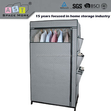 Manufacturer wholesale plastic clothes teenage wardrobe furniture