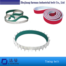 Superendless/truly Endless Red Rubber Coated Pu Timing Belt