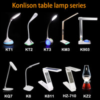 Langma Children Eye Protection Student Study Reading desk lamp Foldable Rechargeable Led Table Lamps warm/cool white