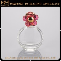Promotional various durable using oval shape perfume glass bottle
