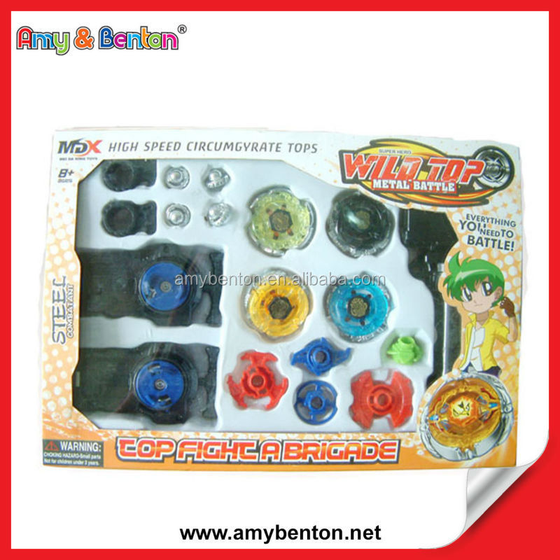 Wholesale Super Speed Spin Top Metal Spin Top Toy Spin Top