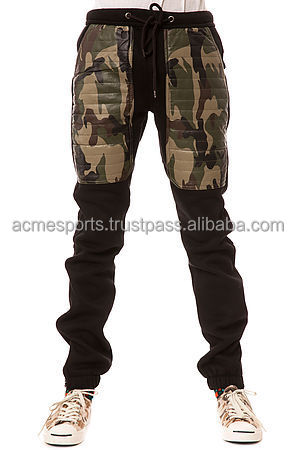 fashion camouflage patch sweatpants - 2017 new design top quality camouflage pockets