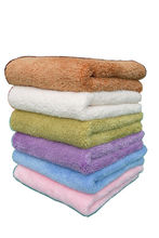 plushy microfiber bath towel