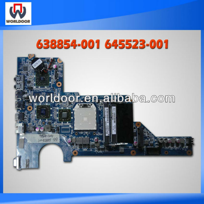laptop Motherboard for HP G6 G4 G7 638854-001 645523-001