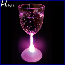Promotional Led Flashing Wine Glass SL009