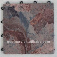 maple red granite floor tile