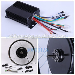48V 2000W Brushless Gearless Hub Motor/Electric Fat Bike DIY Conversion Kits fat ebike rim 26''