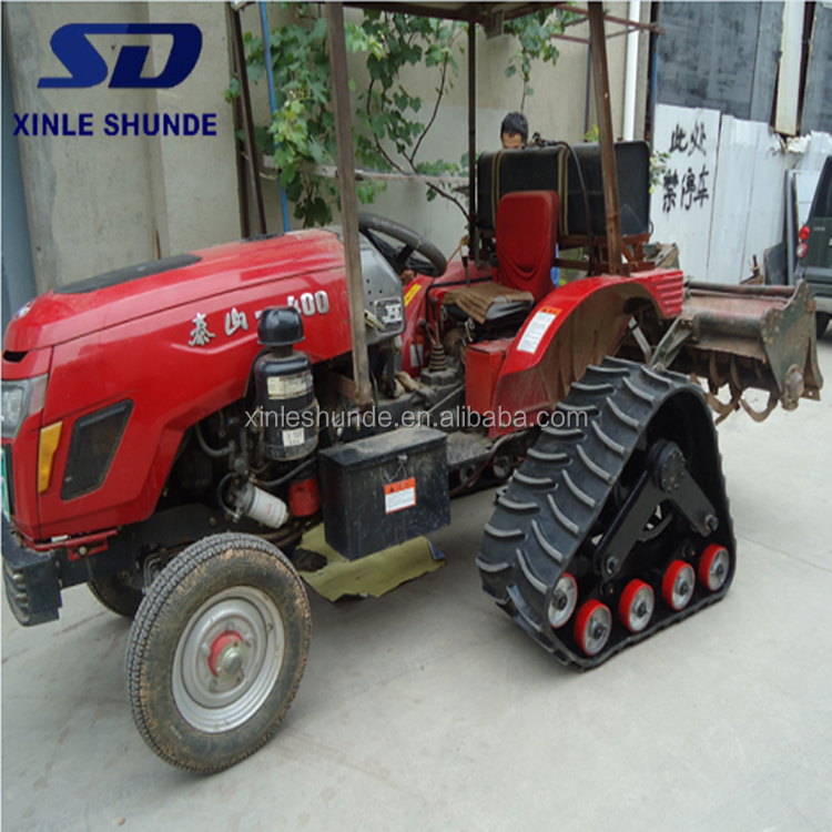 Rubber Track Conversion Systems for Small Tractor Pickup Truck
