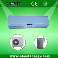 60Hz R410a 18000btu Split Type Solar Air Conditioner With Copper Pipe