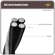 AAAC Conductor LDPE/HDPE/XLPE Insulated 1kV low voltage Aerial Bundled Cable ABC cable