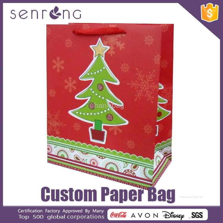 small art paper bag shopping printed paper bag