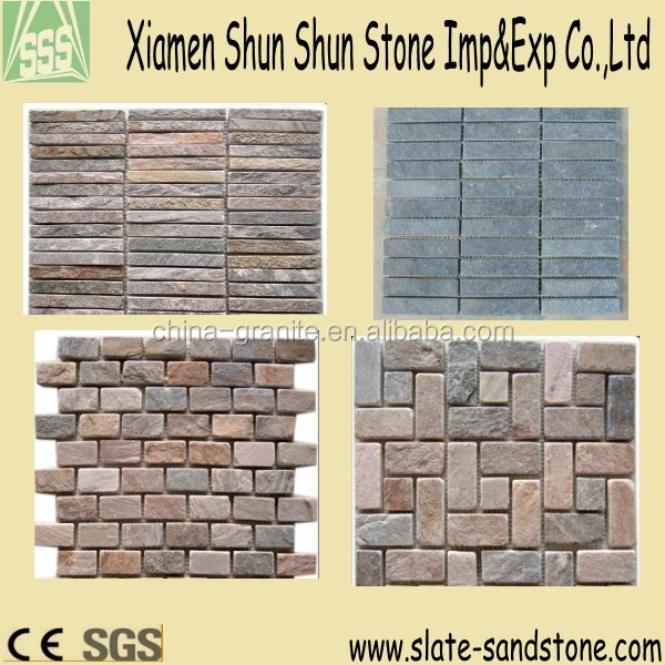 Various natural stone mosaic with high quality