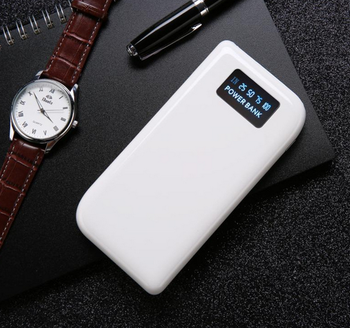 Three in one with digital display mobile power bank 5V2A 10000mah factory supply