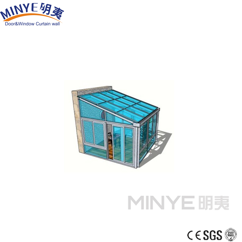 New arrival sunroom/sunhouse with tempered glass