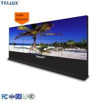 47 inch 4k 450nits narrow bezel 4.9mm color wide lcd digital monitor