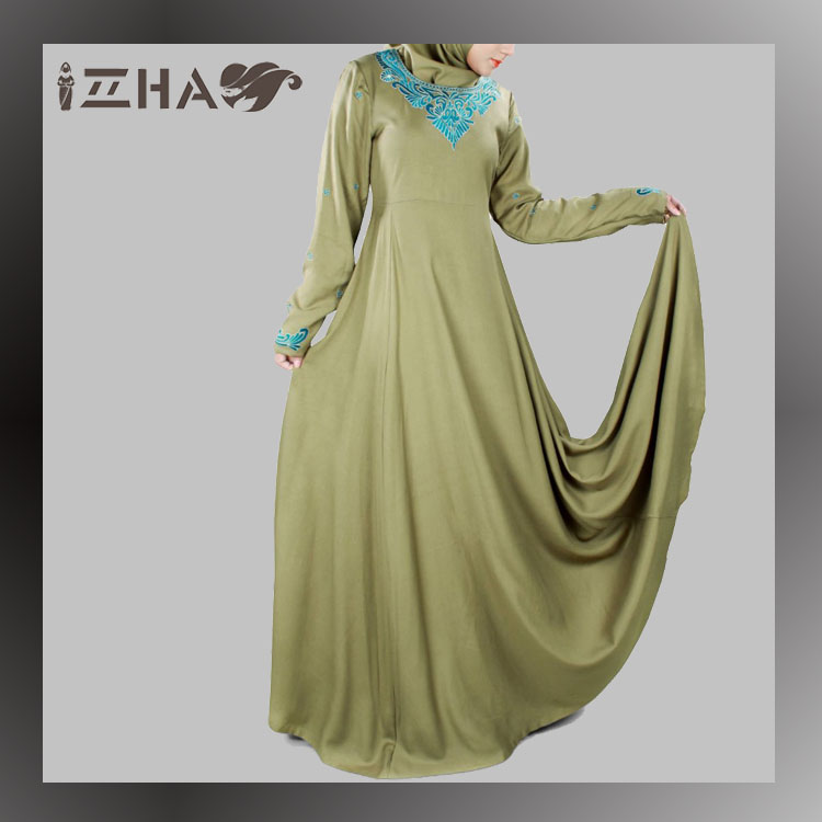 Ladies Long Kaftan New Design Modest Muslim Dress Traditional Islamic Clothing