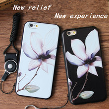Newest 3d soft TPU flower and animal shaped cell phone cases for smartphone