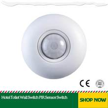 Hotel Toilet Wall Switch PIR Sensor Switch