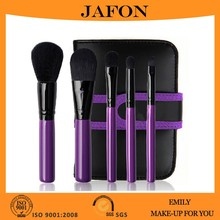 5pcs beauty needs makeup brush set, make up luxury cosmetic brush set