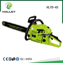 Chinese Cheap Garden Field Gasoline Chain Saw Chainsaw 4500 Machines for Sale HLYD - 45