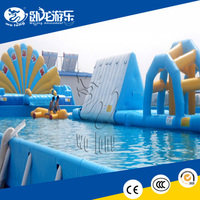 Exciting Inflatable Water Obstacle Course Inflatable