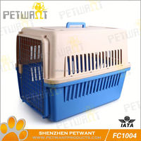 Wholesale galvanized pet kennels abs pan with grill