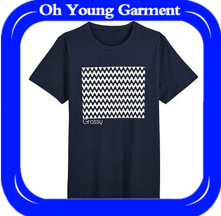 Latest high quality knited yarn dyed striped t-shirt/mens t shirt design