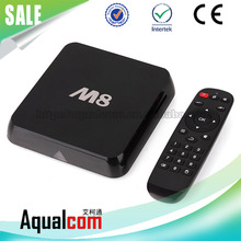 High Cost-Efficiency Quard Core 8G Flash Android Smart M8 OTT TV Box