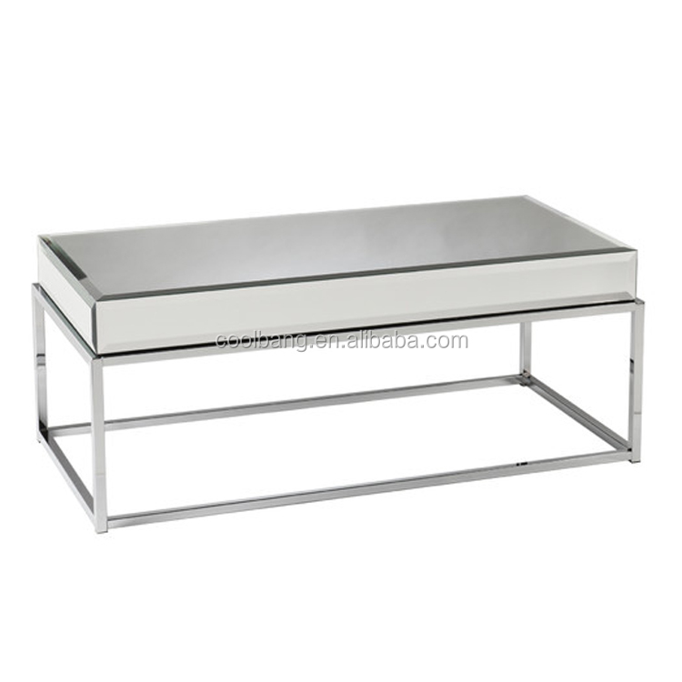 Fashion modern design high gloss perspex coffee table for living room