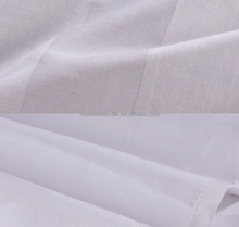 TC CVC Satin Stripe sheeting fabric for hotel bedding
