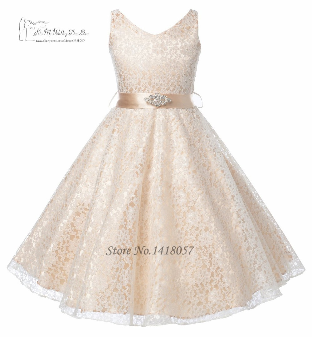 Cheap gown flower girl find gown flower girl deals on line at get quotations lovely pink champagne lace prom dress children girls pageant dresses sash kids designs ball gown flower izmirmasajfo